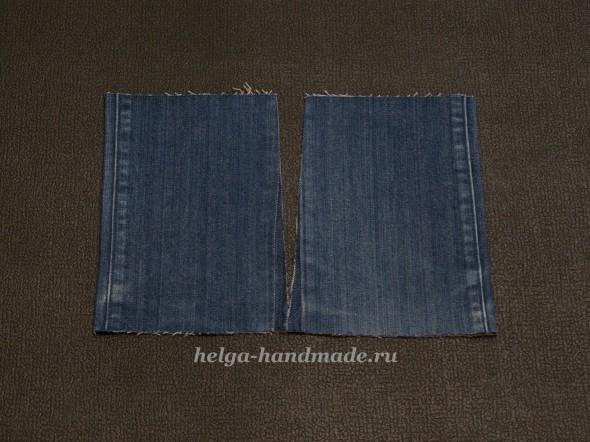 Шьем джинсовую юбку