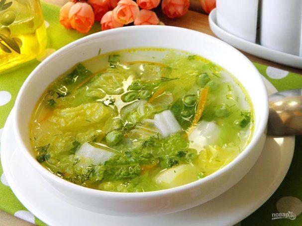 ДЕНЬ ПЕРВОГО БЛЮДА. Суп с пекинской капустой