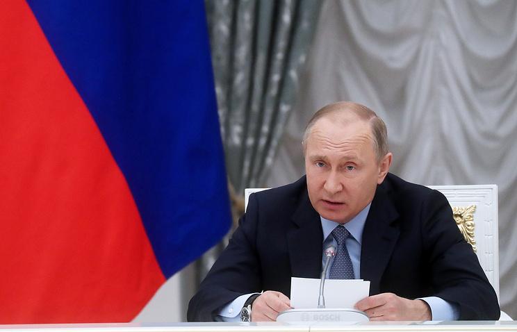 Путин заявил об агрессивном характере новой стратегии нацбезопасности США