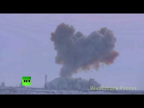 RT первым публикует видео пуска ракеты комплекса «Авангард»