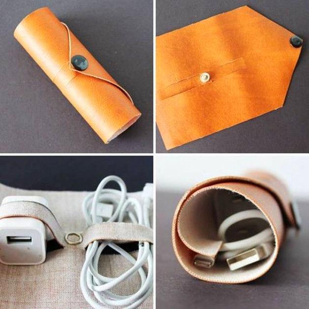 Чехол для наушников из бумаги
