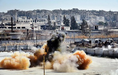 Пентагон опроверг удар авиации США по мечети в Сирии