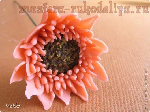 Мастер-класс по керамической флористике: Гербера