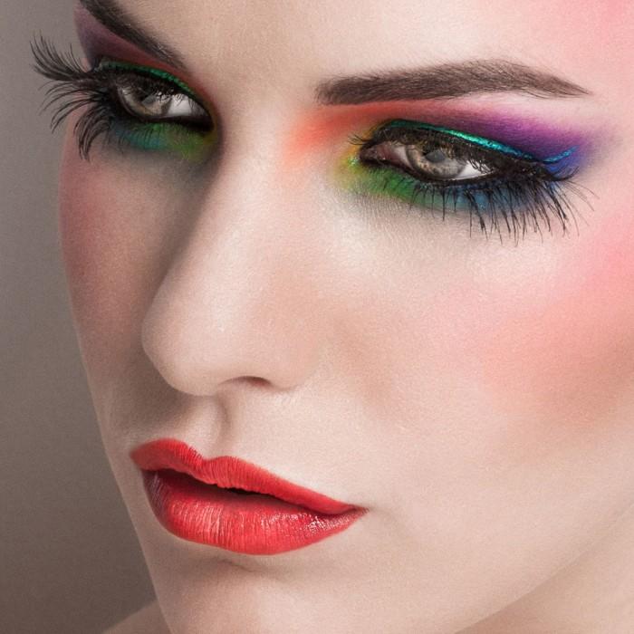 Праздничный макияж для встречи Нового года 2017 : особенности, цвета, тренды