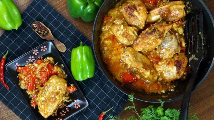Паприкаш куриный с овощами С дедом за обедом, Кулинария, Еда, Рецепты курицы, Паприкаш, Видео, Длиннопост