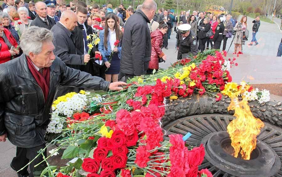 В Одессе отметили 75-ю годовщину освобождения города от фашистов