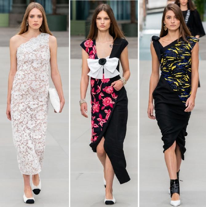 вечерние платья от Шанель 2020 год