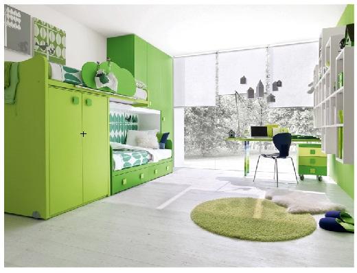 Влияние цвета интерьера на человека. Зеленый.