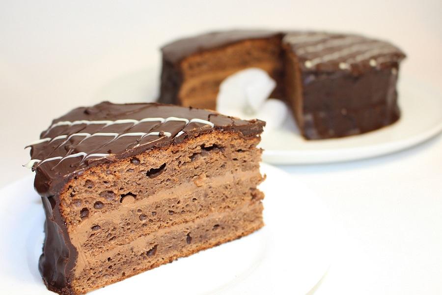 Лехкий торт прага с фото