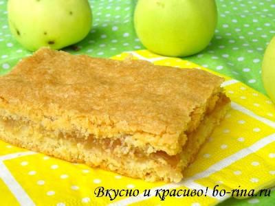 ВКУСНО И КРАСИВО! Очень простой рецепт яблочного пирога