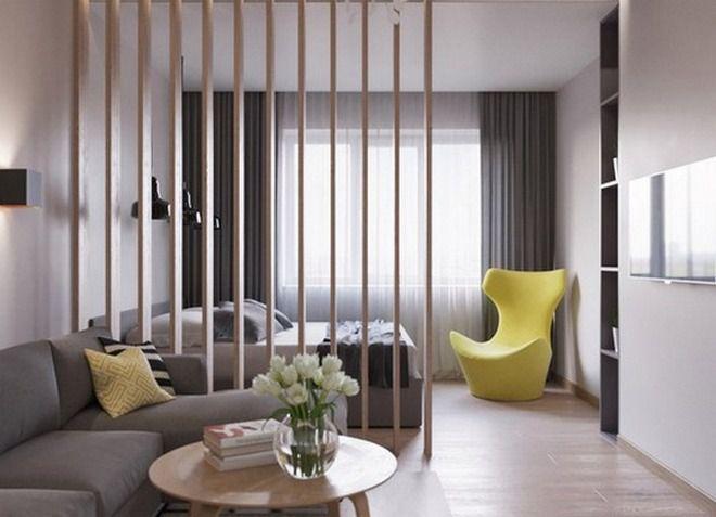 интерьер однокомнатной квартиры 28