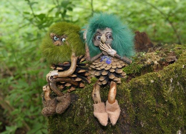 Поделки из лесного материала своими руками фото для