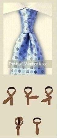 Завязать галстук? Легко! 10 различных способов.