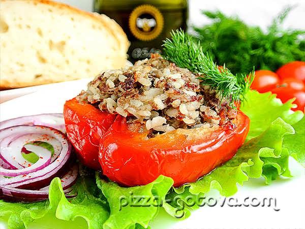 рецепт с фото фаршированных перцев в духовке