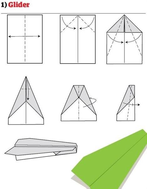 Сделать своими руками бумажные самолетики