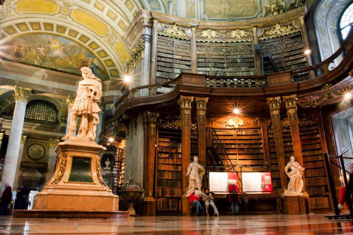 Национальная библиотека в Вене