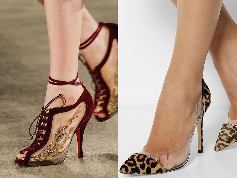 Последние модные тенденции обуви 2017