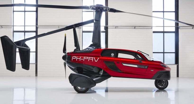 Летающие автомобили: будущее…