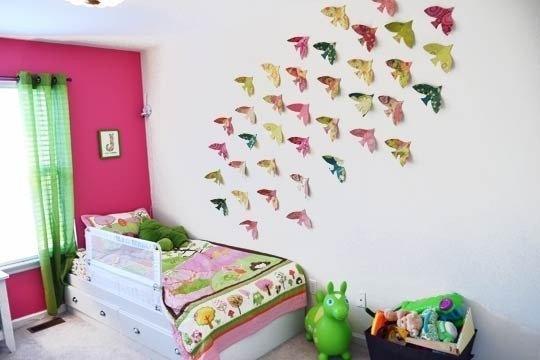 Украшение детской комната своими руками