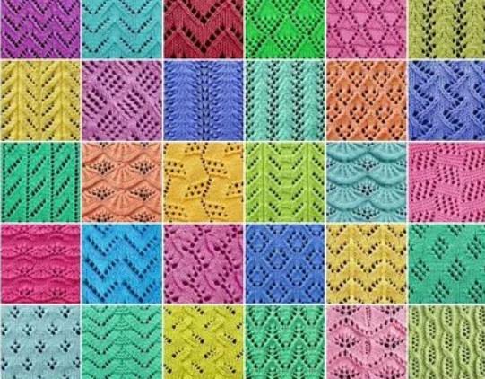 Как читать схемы вязания спицами… Эти обозначения быстро запоминаются даже после первого повязанного узора!