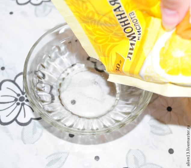 Холодный фарфор в микроволновой печи