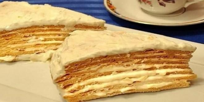 Торт «Парижский коктейль» так и тает во рту. Имеет чудесный аромат и уникальный вкус – он просто тает во рту