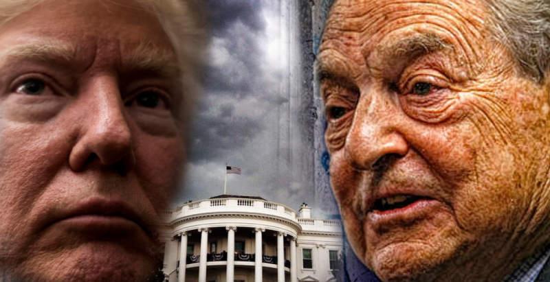 """Джордж Сорос инициировал военный переворот, чтобы """"свергнуть Трампа"""""""