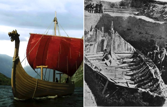 На рыночной площади в Норвегии обнаружен корабль викингов