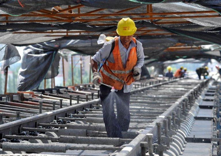 Строительство моста в Китай началось в Амурской области