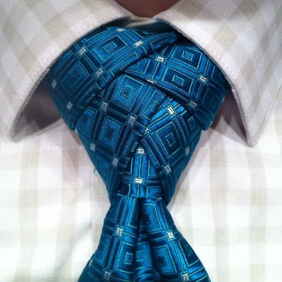 Как завязывать галстук? Необычный узел Eldredge Tie Knot.
