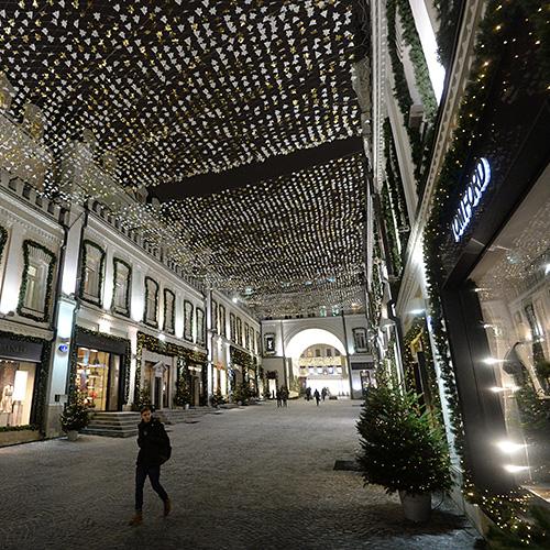 Трафик самых дорогих бутиков Москвы упал в два-три раза