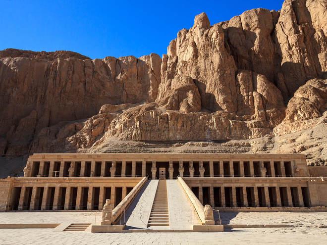 Храм Хатшепсут, Луксор