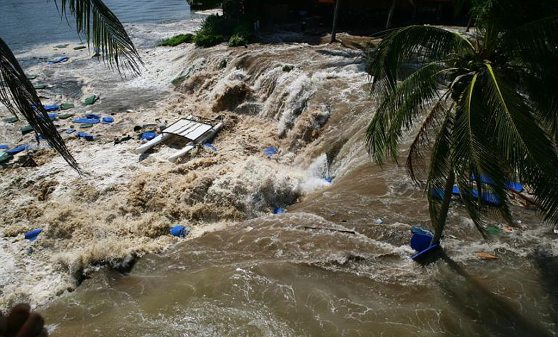 Самое катастрофическое цунами в истории Земли катастрофа, цунами