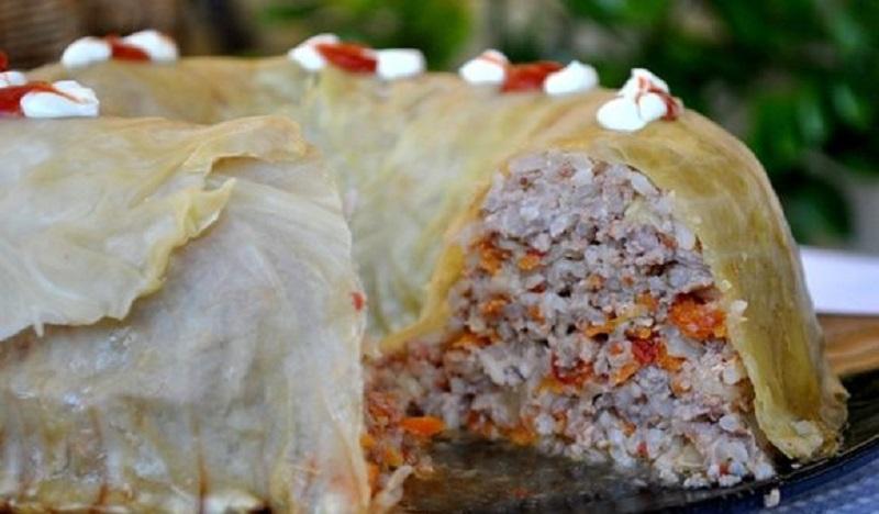 Ленивый голубец из молодой капусты: блюдо, достойное барского стола!
