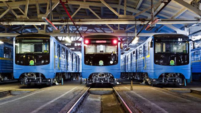 Первая жертва ухода российских банков: Киевский метрополитен