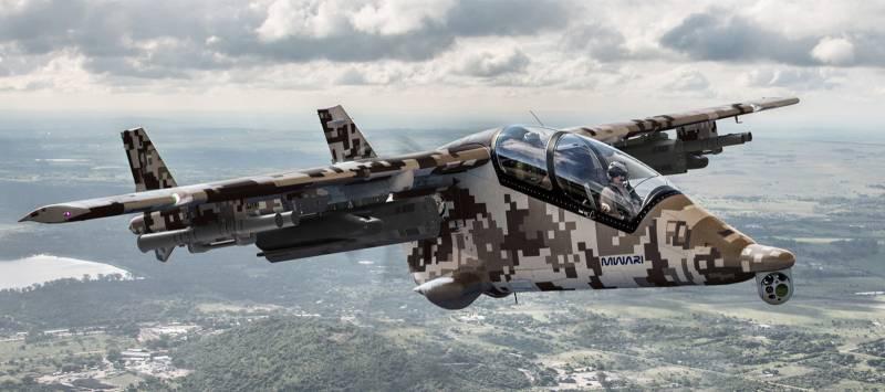 Многоцелевой боевой самолет Mwari (ЮАР / США)