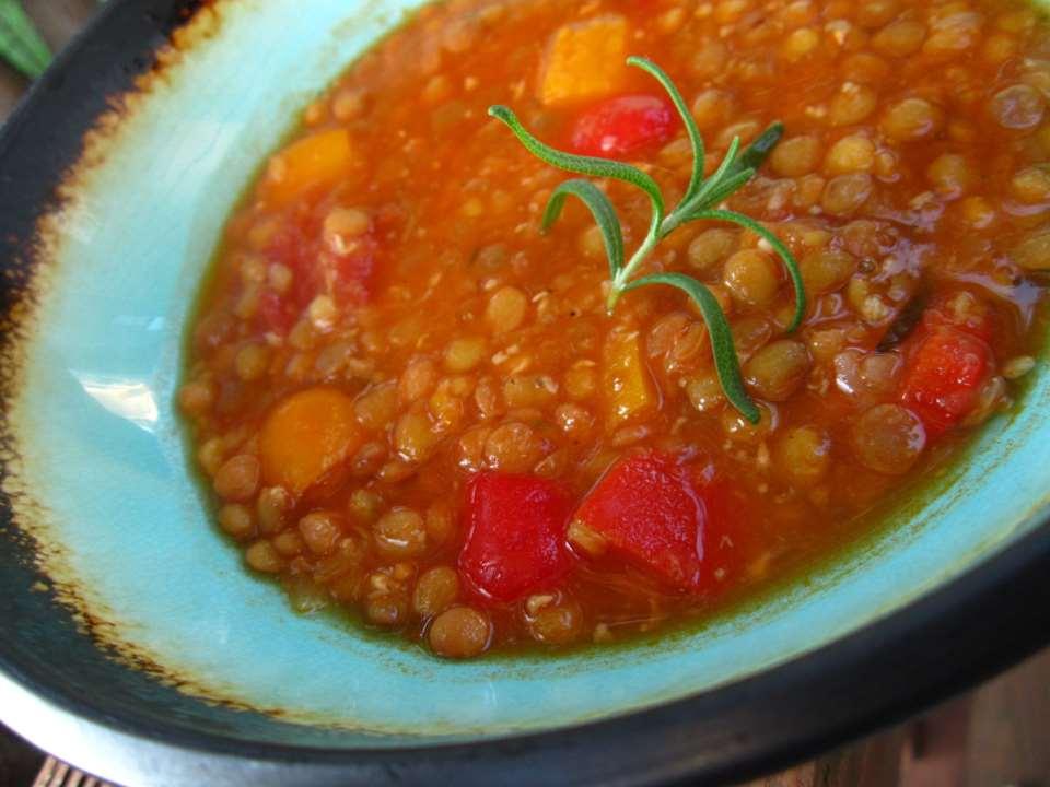 Суп из чечевицы по-гречески — Факес