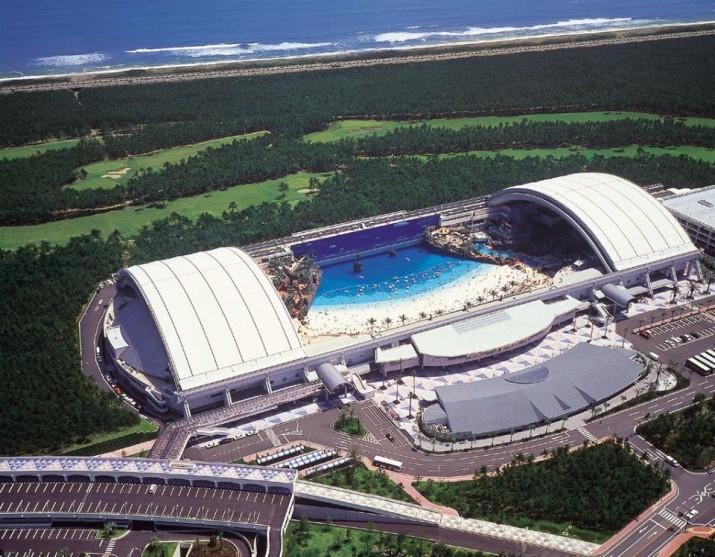 Океанский купол в Японии