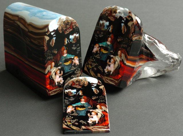 Стеклянные картины от Лорена Стампа