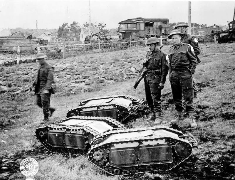 Самоходная мина Голиаф Вундерваффе, Чудо техника, военная техника Германии, вторая мировая война