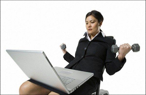 Гимнастика для офисных работников