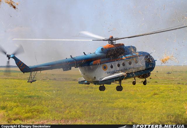 На Украине приступили к ремонту вертолетов Ми-14