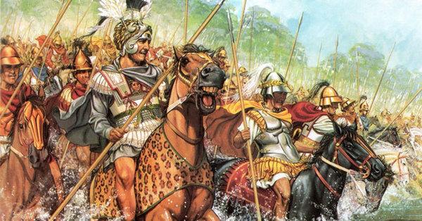 Знаменитая встреча Александра Великого с Кельтами