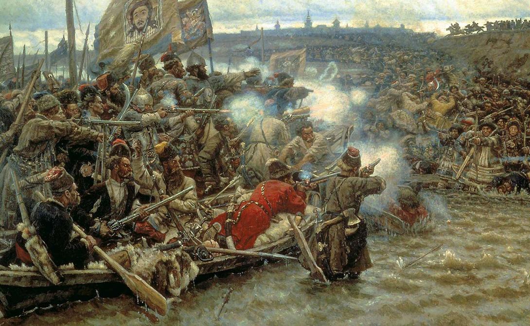 Ермак: русское покорение бескрайней Сибири