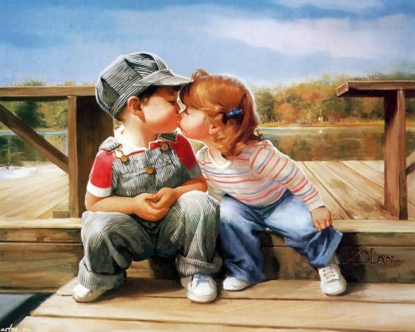 ЧП в школе: мальчик поцеловал девочку