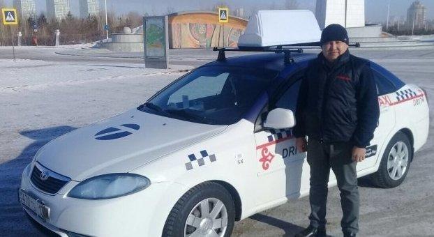 На время морозов в Казахстане столичные такси стали бесплатными