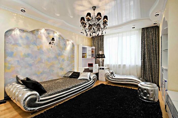 Натяжной потолок в ванной фото Дом Мечты