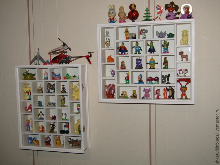 Мастерим витрину для коллекции