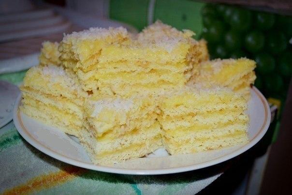 Торт Рафаэлло. Мягкий и очень вкусный.