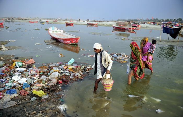 Священная река Ганг.